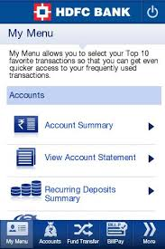 hdfc bank mobilebanking android apps on google play