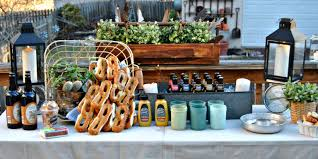 German Beer Garden Table by How To Diy A Backyard Beer Garden Party For Oktoberfest Outdoor