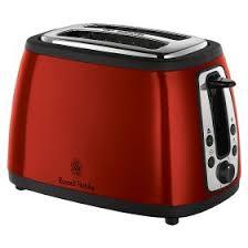 Asda Toasters Russell Hobbs Red Heritage 2 Slice Toaster Asda Groceries