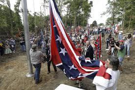 Confederate Flag In Virginia Confederate Flag Towering Over I 95 U0027will Stay U0027 Said Va