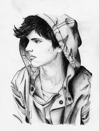 sad sketches of boys and boy sketch sketch and