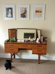 Vanity And Stool Set Vanities Mid Century Modern Vanity Table Mid Century Modern