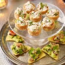 crab canapes crab and avocado tortillas recipe blood orange margarita