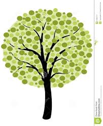 simple tree vector stock vector image of nature element 47664711