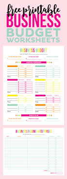 Income Tracker Spreadsheet Tax A Less So With These Free Printable Business