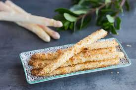 cuisine asperge asperges panées au panko cuisine addict de cuisine et
