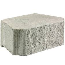 Concrete Block Garden Wall by 6 In X 16 In Flat Face Gray Concrete Garden Wall Block