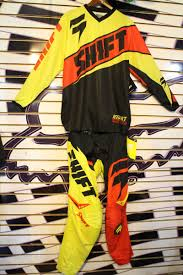 motocross jersey and pants combo traje shift mx jersey m pantalon 34 motocross enduro combo