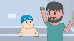 washing the baby who u0027s your daddy animation w dantdm youtube