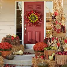 Fall Harvest Outdoor Decorating Ideas - 73 best front door porch fall decor images on pinterest fall