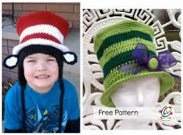 dr seuss hat template free dr seuss crochet patterns the cutest collection of ideas