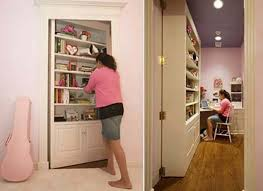 decorating bookshelves secret door design perfect blend