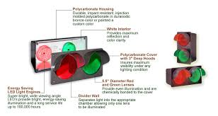 stop sign with led lights led lane control signs and red green signal lights isigns inc