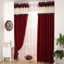 Curtains Black And Red Cosy Red Curtains For Bedroom Bedroom Ideas