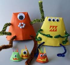 Craft Project Ideas For Kids - 25 easy alien craft ideas for kids