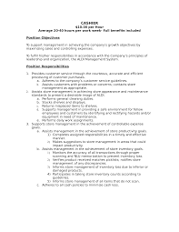 Gas Station Cashier Job Description For Resume by Money Handling Resume Free Resume Example And Writing Download