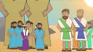 bible theater numbers 12 spies in canaan lifekids tv youtube