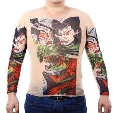 complexion men long sleeves tattoo t shirt 6 online shopping