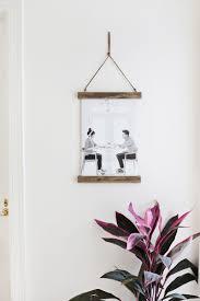 diy poster hanger u2013 a beautiful mess