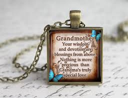 grandmother s necklace grandmother glass pendant inspirational glass