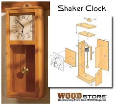 build your own clock woodworking plans
