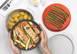 joseph cuisine design joseph joseph stackable cooking set serving detail view kitchen