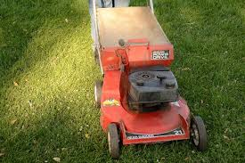 what causes blue smoke in a lawn mower hunker