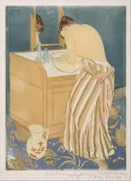 mary cassatt woman bathing la toilette the met
