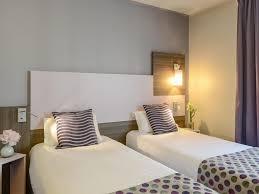 chambre 2 lits comfort hotel nation père lachaise