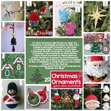 345 best crochet free christmas crochet patterns images on