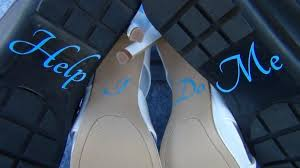wedding shoes help me i do help me vinyl stickers for wedding high heel shoes bridal