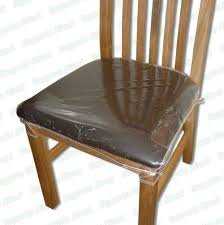 clear plastic chair covers plastic seat covers for dining room