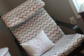 Chevron Armchair 13 Easy And Fast Diy Ikea Poang Chair Hacks Shelterness