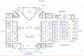 transitional floor plans 100 church floor plans free section and elevation free