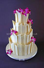 white chocolate cake recipe shard wedding cake white chocolate shards fresh orchids orchid