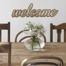 signs home decor stratton home decor wood and metal welcome decorative sign