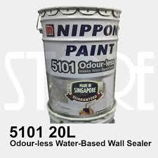 qoo10 nippon paint 5101 water based wall sealer 20l tools