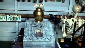 diy halloween animated props haunted urn animated halloween prop youtube
