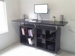 ikea computer desk hack ikea standing desk have you considered having such a standing
