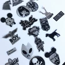 50pcs lot metallic color game of thrones stickers for skateboard