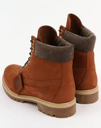 timberland 6 inch premium boots dark tan mens leather nubuck