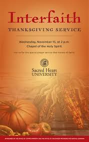november interfaith thanksgiving service sacred