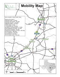 kyle map transportation kyle economic development
