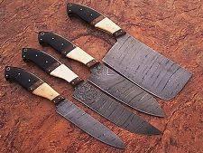 damascus kitchen knives for sale professional chef knife set ebay