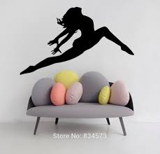 high quality dancer silhouette wall decals buy cheap dancer