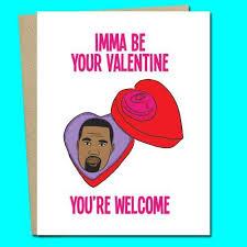 kanye valentines card kanye card jv studios boutique