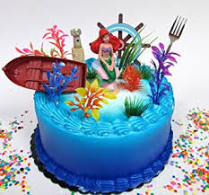 the mermaid cake mermaid princess ariel themed birthday cake