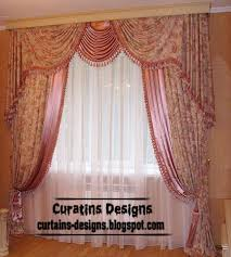 Bedroom Curtain Design Ideas Dream Bedroom Drapery Curtain Design Patterned Pink Curtain