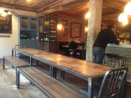 Long Kitchen Tables by People At Bar Table Buscar Con Google Bars Pinterest