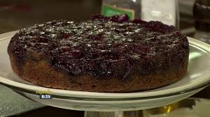 blueberry u0026 lemon upside down cake youtube